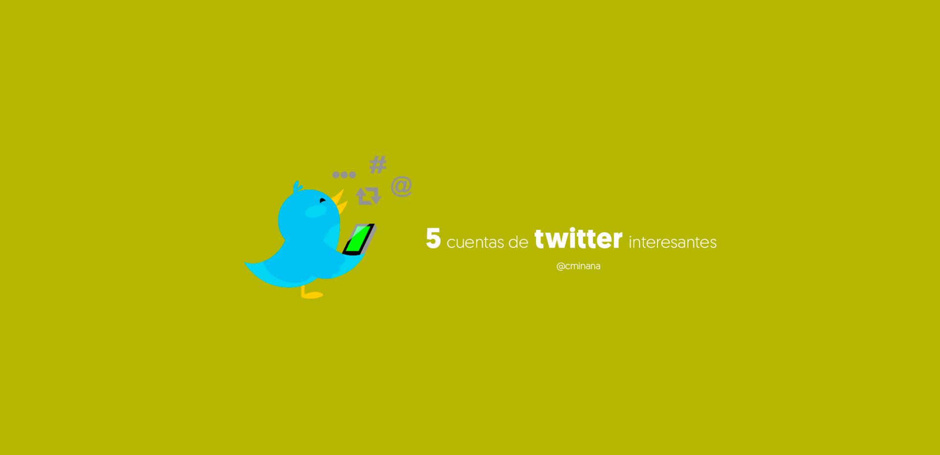 cuentas twitter