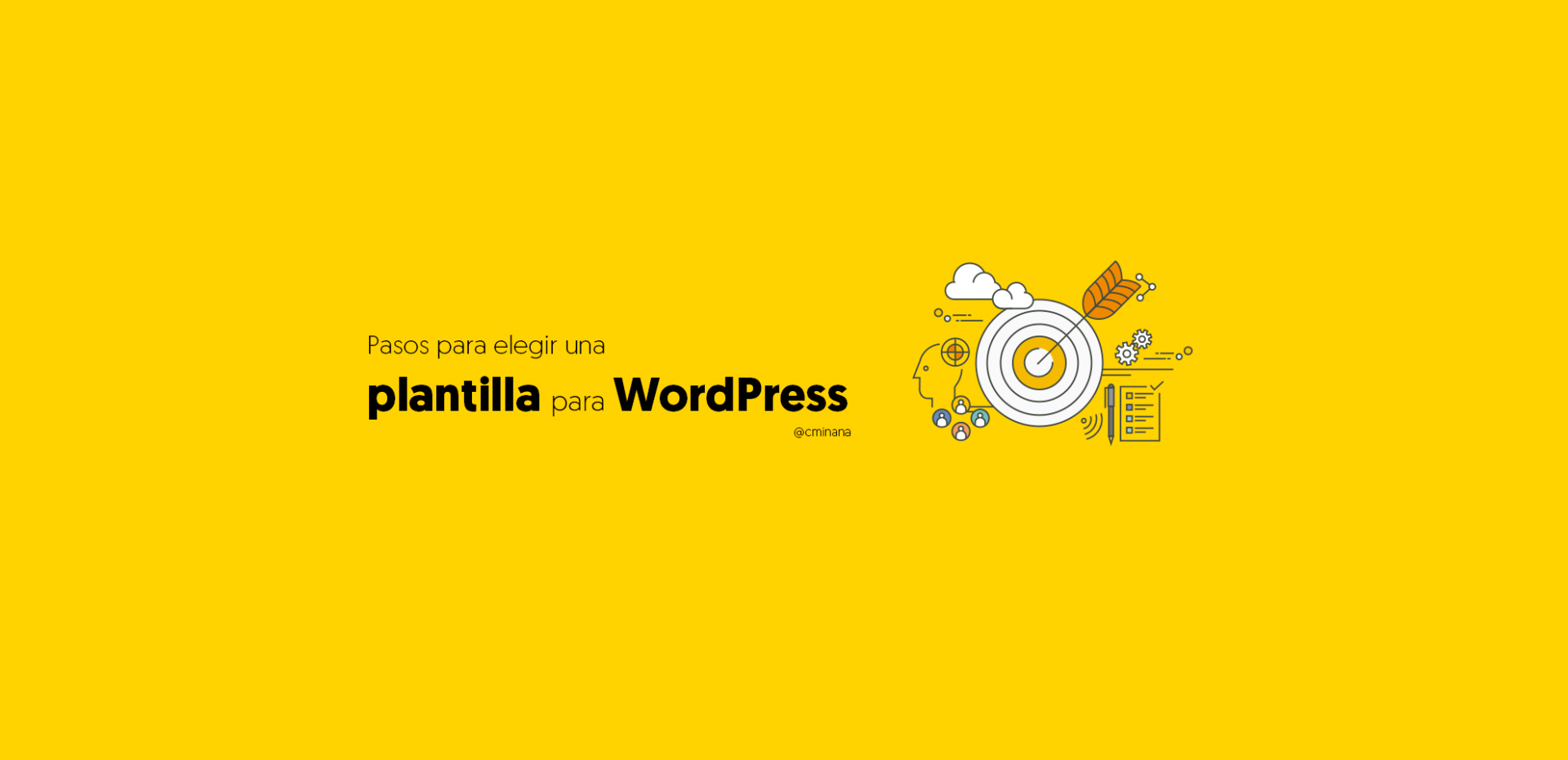 pasos elegir plantilla para wordpress