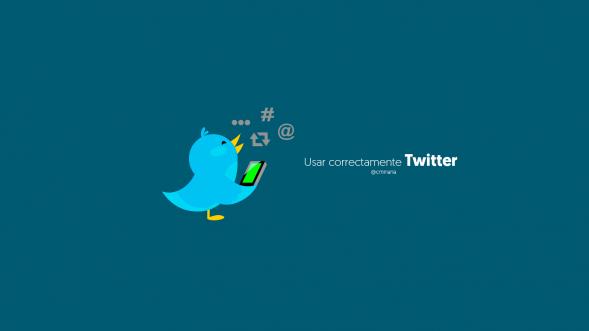 usar correctamente twitter