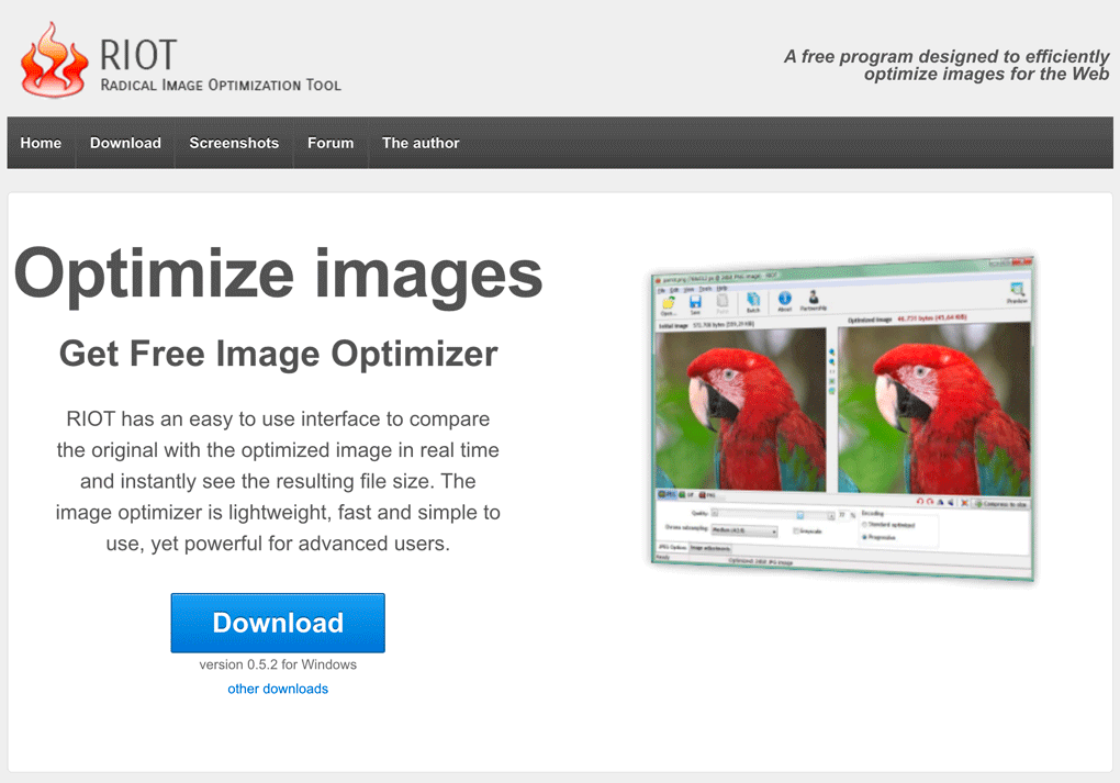 comprimir imagenes recortar fotos