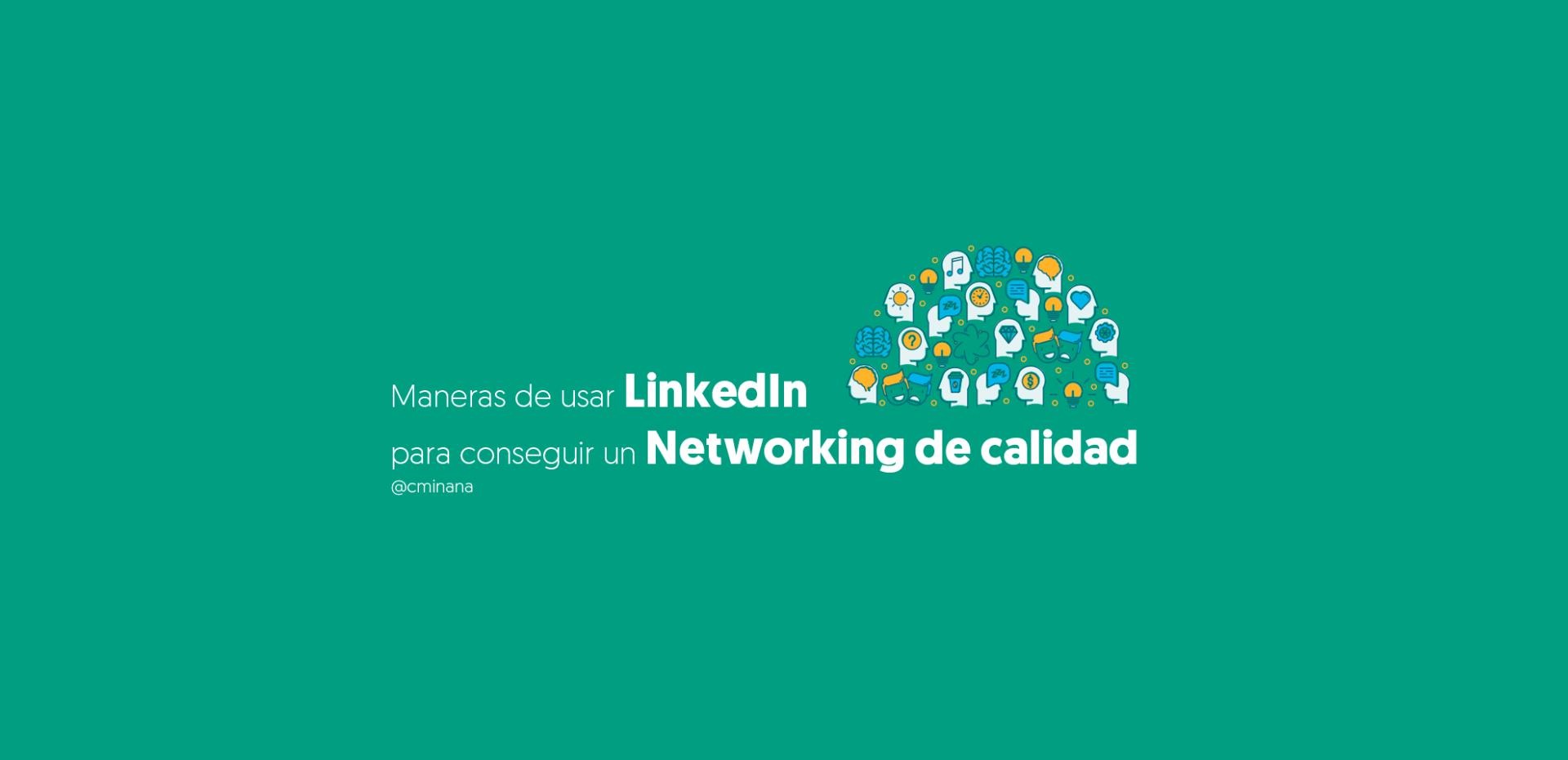 Usar LinkedIn Networking