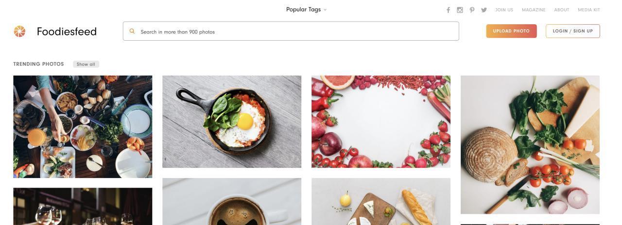Foodiesfeed banco de imágenes gratis descarga
