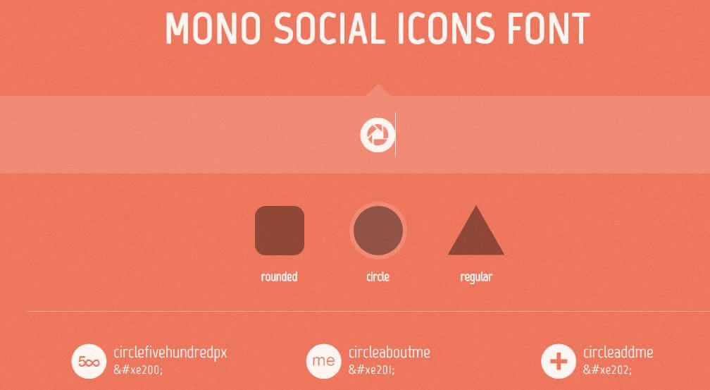 mono-social-icon-flat-descargar