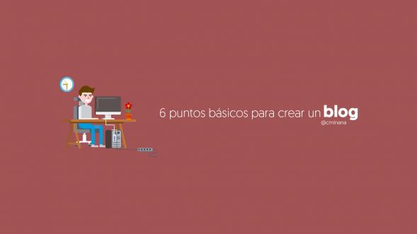 crear un blog