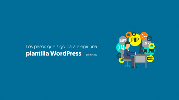 elegir plantilla wordpress
