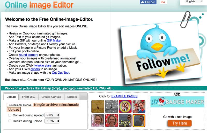 online-image editor comprimir imagenes