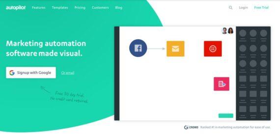 autopilot email marketing herramientas