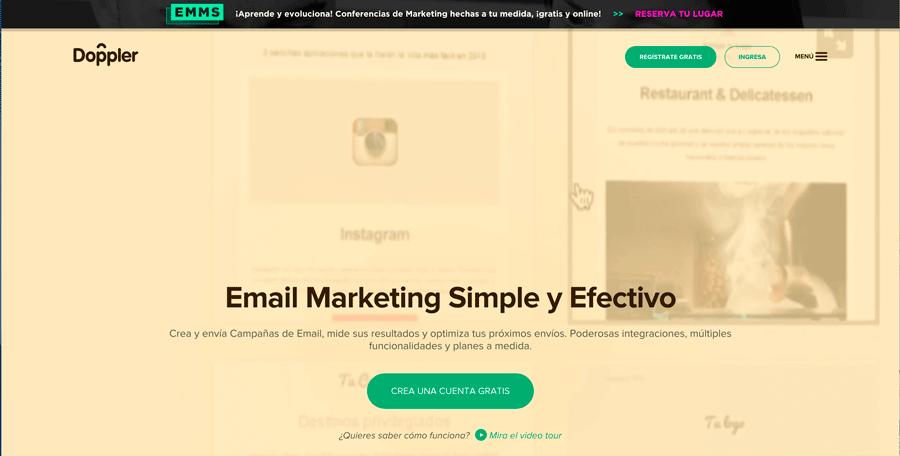 doppler email marketing newsletter