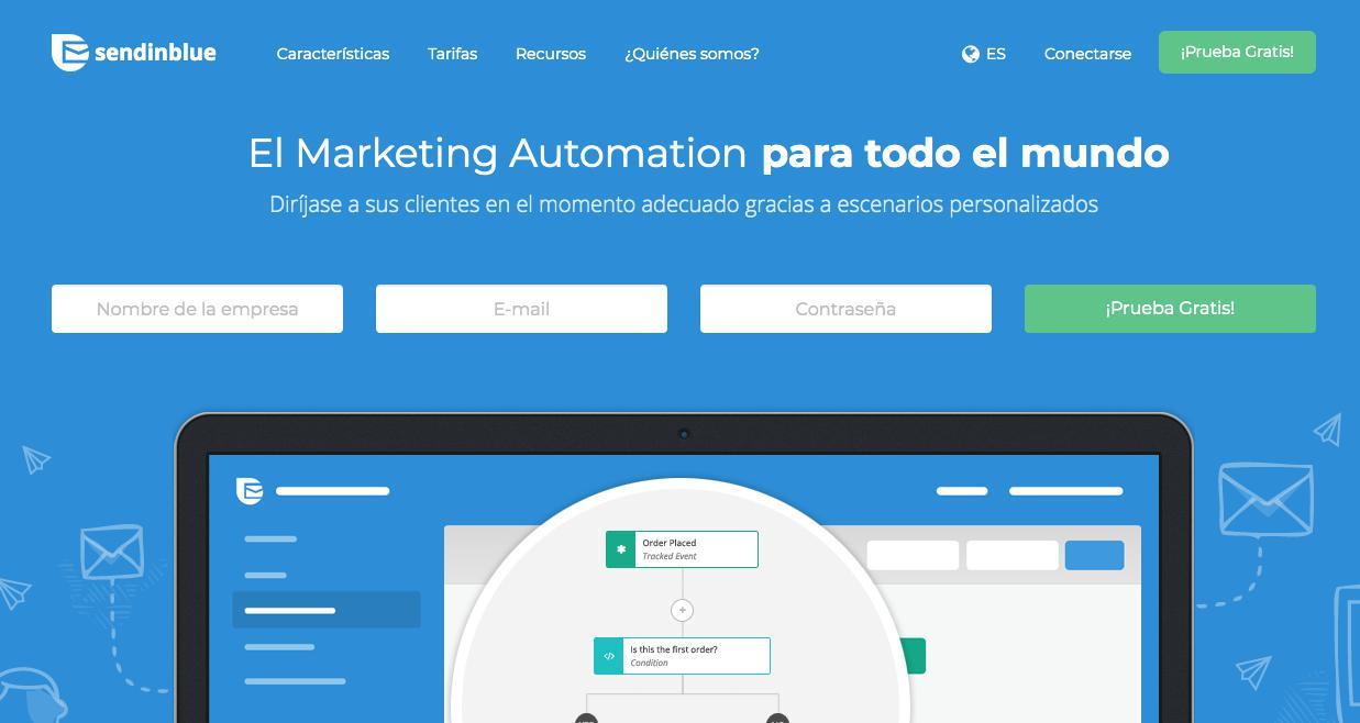 email marketing sendiblue herramienta