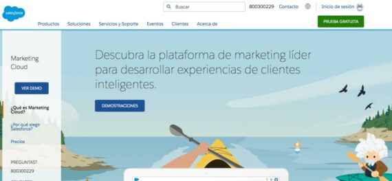 marketing cloud b2b newsletter