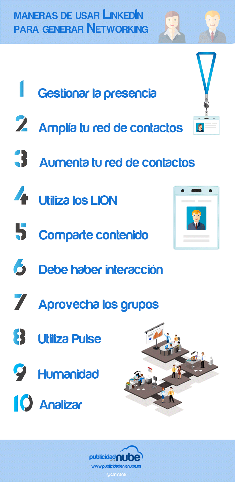 usar LinkedIn Networking