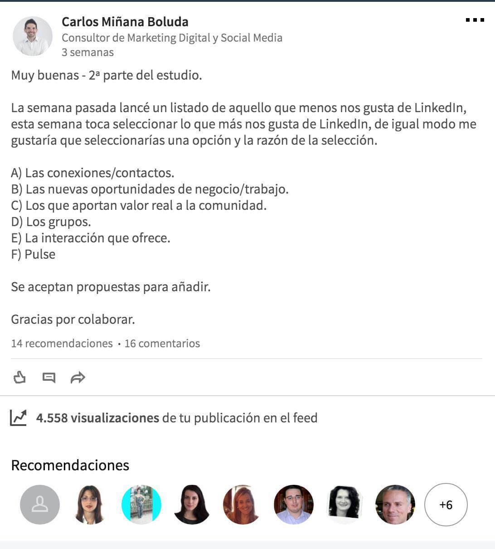 Usar LinkedIn para generar un networking de calidad